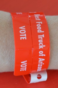 Voting Wristband